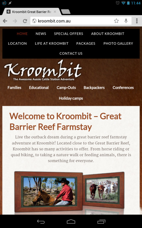 Central Queensland farmstay: http://kroombit.com.au