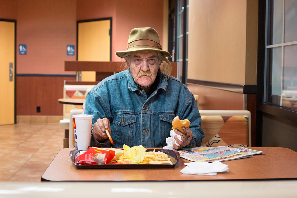 """The People You Meet at McDonalds""  Nolan Conway for the New York Times.  Check all the photographs out, it's a great collection."