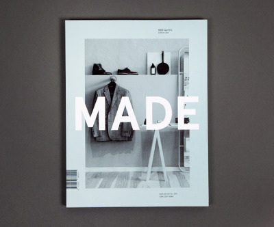 graphicporn:  MADE Quarterly