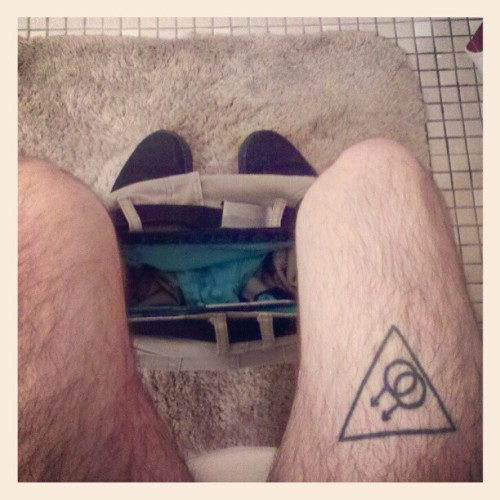 My thighs look weird when i sit. #vegan #gay #poop #Aeropostale #Vans #tattoo #homo