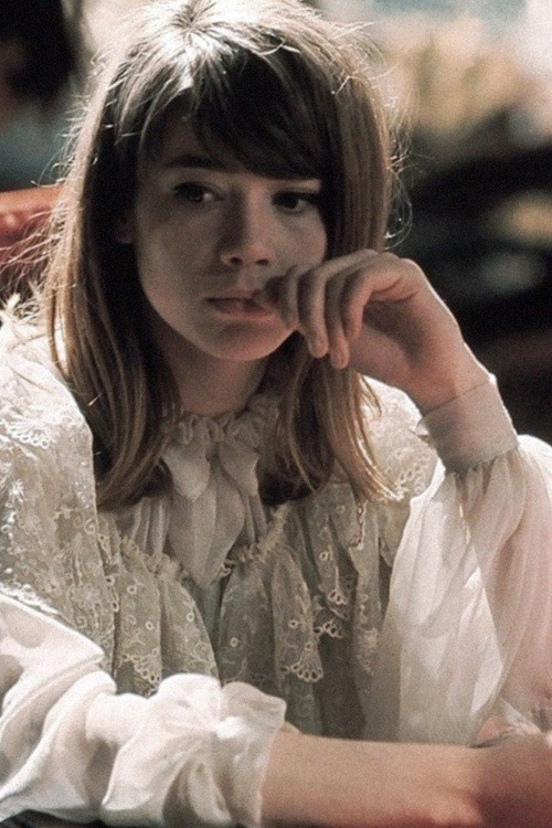 brandywarhol:  Françoise Hardy wearing Christian Dior, French Vogue 1964