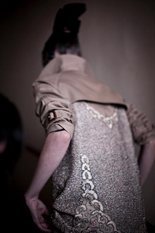 killheji:  Backstage at Maison Martin Margiela's Spring/Summer 2013