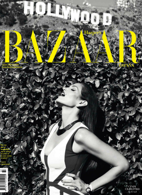 Cindy Crawford by Nagi Sakai for Harper's Bazaar Spain June 2013