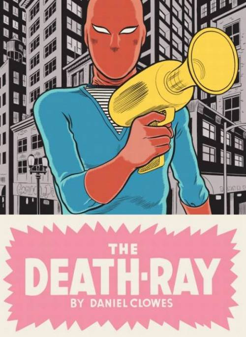 Me before reading this graphic novel: Ha, this'll be funny. Daniel Clowes is funny! Look at that crazy looking weapon, that's funny! This is going to be page after page of hilarity. Me after reading this graphic novel: I hate everything and everyone. There are no good people in the universe. We are all products of our environment.  (Ok, I don't really believe the above, but you get the point. I guess that's what I get for judging a book by its cover.)