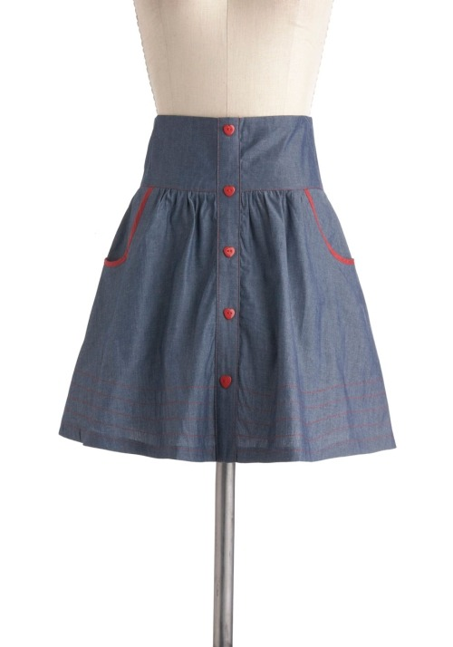 Dress like Rachel Berry: amour the merrier skirt $62.99 from Modcloth