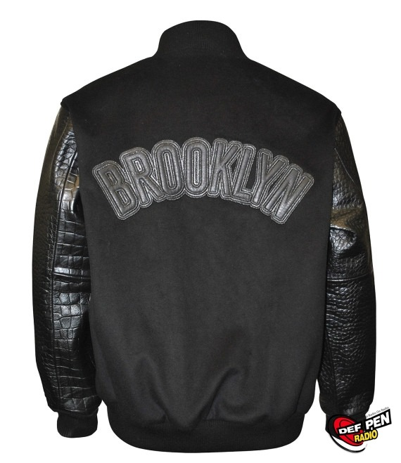 "STARTER x LOGAN ZANE – ""Brooklyn Nets"" Varsity Jacket  View pics and get the inside details on this jacket right here."