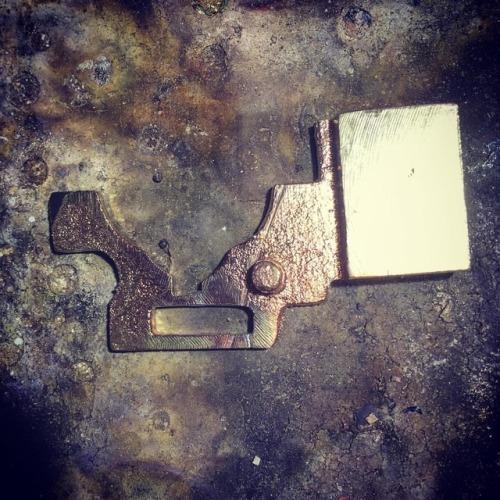 真鍮の何か良く分からないものをロー付け#真鍮 #修理 (Obihiro, Hokkaido)