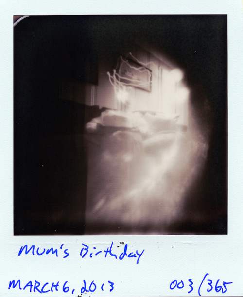 Pinhole: March 6, 2013 (003/365) on Flickr. Nashville, Tennessee Ammo Can, ~f/175, tilted film plane, PX 600 Silver Shade UV+, about 1 minute 45 seconds