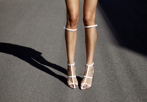 what-do-i-wear:  Alexander Wang sandals (image: styleheroine)
