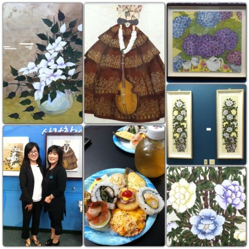Aunt's art showcase :) #artfood