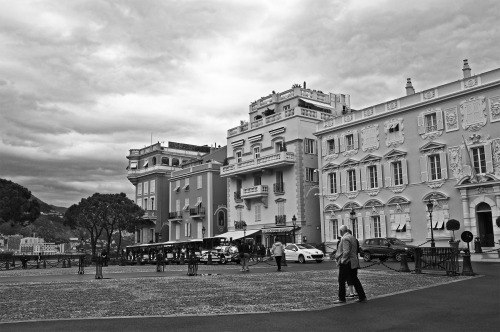 Palais Du Prince | A less touristy mid-morning that was chilly and breezy outside the Prince's palace in Monaco. It was absolutely beautiful having to see the whole of Monaco from up there. May 2012.    We accept the love we think we deserve. Stephen Chbosky, The Perks of being a Wallflower