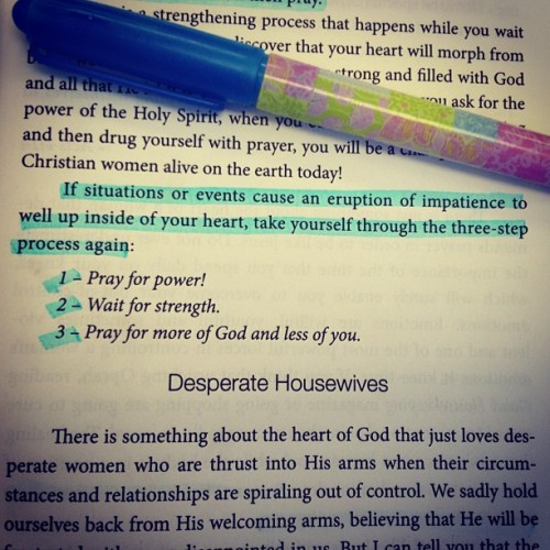 "Amen!! What a great read… ""Holy Estrogen"" by Carol McLeod 🙏💕📖 @carolmcleod #holyestrogen #book #read #God #ffp #prayer #holyspirit"