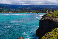 Oahu jump! Photo credit: Apoetess on Viator.com submitted by: viatortravel, thanks!