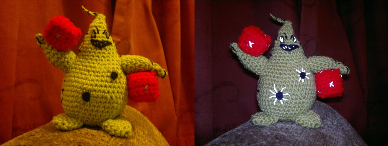 Oogie Boogie (Free Pattern)Hi y'all. Today's blog post is a lot later than normal, because I slept and played an epic DnD…View Post