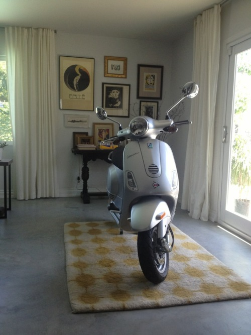 My Vespa 150. This photo belongs to Stillnessmeetsme.