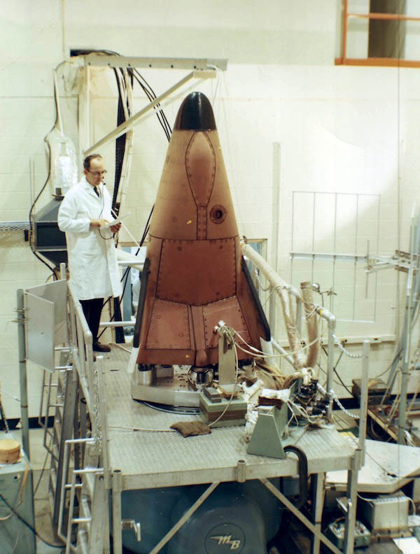 The USAF X-23 PRIME (Precision Reentry Including Maneuvering reEntry), a lifting body re-entry test vehicle, launched and recovered in 1967 #X-23 PRIME#lifting body#spaceflight