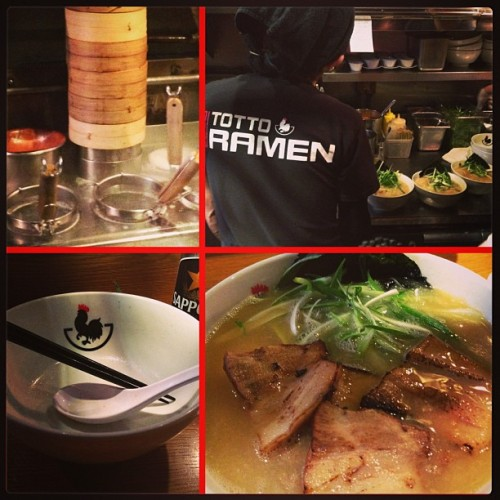 remedy for wintry day - paitan #ramen w/ @trinibird & #diamond! #nomnomnom #piedmontphoodie  (at Totto Ramen)