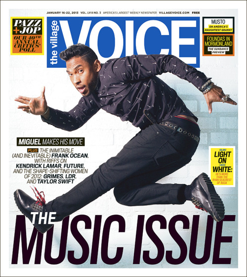In this week's issue of the Voice…Our 40th Annual Pazz & Jop Critics' Poll!
