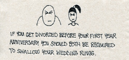 Marriage Advice Matta Napkin #376 http://mattainc.blogspot.com/