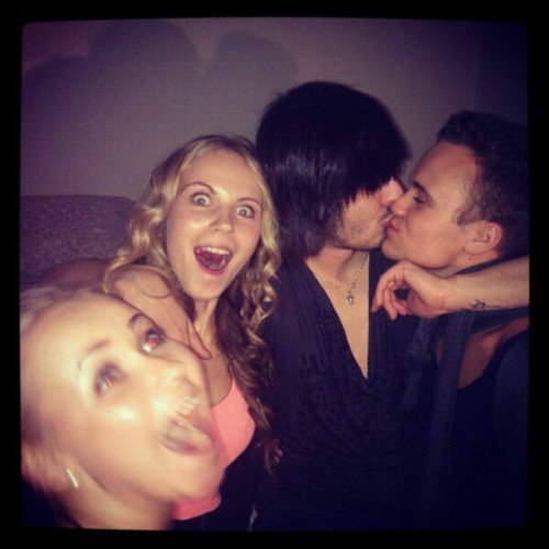 #newyear @janikahelena #crazy #drunk #bitches #boys #girls #boyfriend #kiss #gay #iggirls #igboys #instagay #instaparty #instafun #instadaily