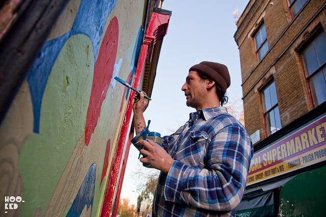 RUN on Flickr.RUN painting in Clapton, East London. More photos here: http://www.hookedblog.co.uk/2013/02/run-painting-in-clapton.html