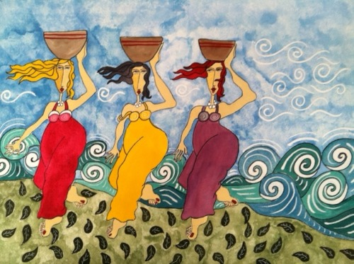 Cher Odum, The Three Baskets