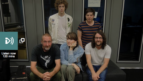 Listen to the live session on Marc Riley'sBBC Radio 6 Musicshow