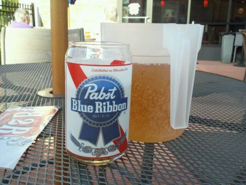 "Text from my dad:  ""Best beer glass ever."""