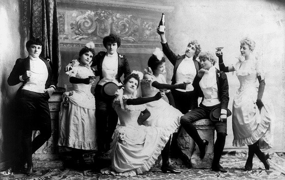 Vintage Photo Friday  Is it 5 o'clock yet? Who cares, cheers!