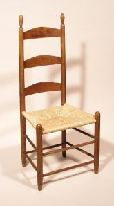 """The peculiar grace of a Shaker chair is due to the fact that it was made by someone capable of believing that an angel might come and sit on it. Indeed the Shakers believed their furniture was designed by angels – and Blake believed his ideas for poems and engraving came from heavenly spirits."" Thomas Merton in his Introduction to Religion in Wood: A Book of Shaker Furniture by Edward & Faith Andrews"