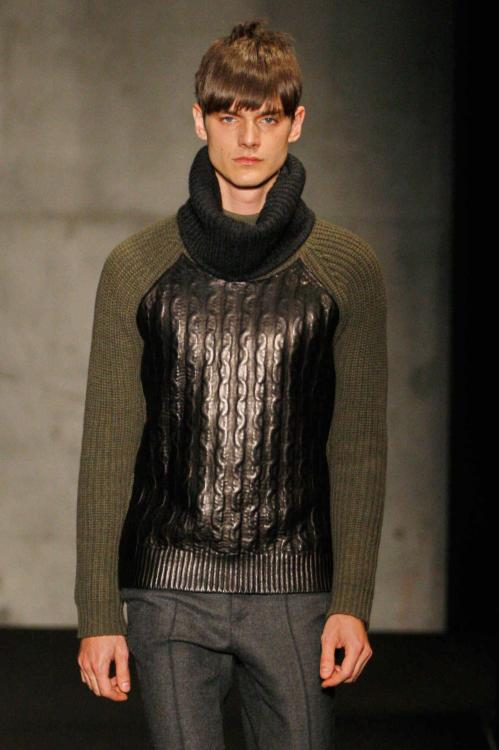 wgsn:  Interesting fabric mixing at @rag_bone #nyfw