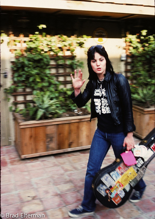Joan Jett photographed by Brad Elterman (x)