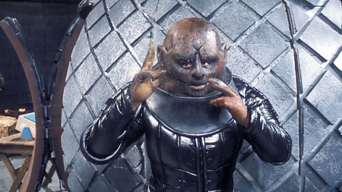 doctorwho:  BBC Doctor Who Blog - We've Released the Sontarans! Need to know everything about the Sontarans? The BBC Doctor Who Blog has you covered:  Strax the Sontaran returns in The Crimson Horror and in his honour we've maximised coverage of all his race's early encounters with the Doctor. That means you can enjoy a wealth of clips, galleries, fact files and more from stories including the Sontarans' debut adventure back in 1973, their attempted invasion of Gallifrey and The Two Doctors.  Clips include the very first time we saw one of their faces, the Doctor defeating an entire invasion force with a risky bluff and the Time Lord gambling to save his home planet from a ruthless Sontaran plot. They also have galleries from every single episode, fascinating behind the scene shots and exclusive content from the making of.