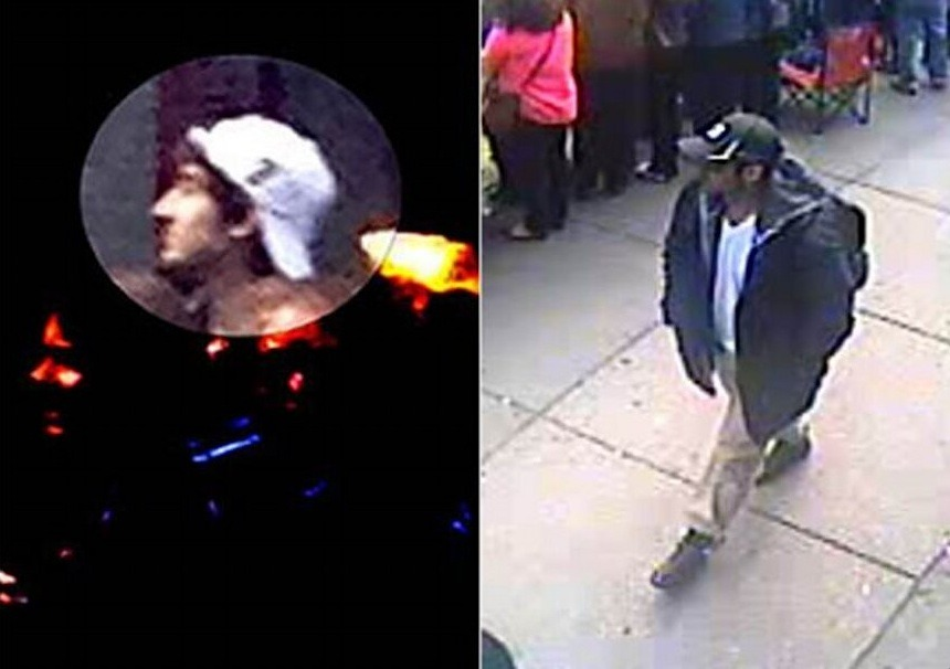 BREAKING:  IMAGES of 2 Suspects in Boston Bombings Released http://twitpic.com/cka90t Contact at www.FBI.bostonmarathon.gov via NBC Nightly News