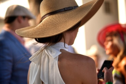 bella-illusione:  Summer hat