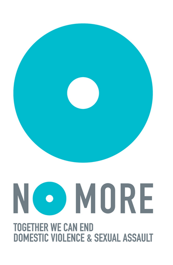"The ""NO MORE"" campaign NO MORE is a simple idea with the power to unleash new, major  attention to the people all around us who are hurt – directly or indirectly — by domestic violence and sexual assault every day and every minute.  We all know someone who has been touched by this violence but still, domestic violence and sexual assault remain hidden and misunderstood. NO MORE shines a spotlight on these issues.  Each of us can use NO MORE to stop the stigma, shame and silence for good. Like the peace sign, the ""support our troops"" ribbon or the AIDS ribbon, our goal is to use the NO MORE symbol to help unify all people and organizations who want to end domestic violence and sexual assault. NO MORE was created by 50 individuals from many different backgrounds who were frustrated by the fact that even though domestic violence and sexual assault are devastatingly pervasive and widespread– impacting rich, poor, young , old, male, female, white, brown, black, from every region and religion– they aren't a priority in this country. It's time to change that. It's time to say NO MORE.  DOWNLOAD THE NO MORE TOOLKIT WITH FLIERS, POSTERS, LOGOS, ETC"