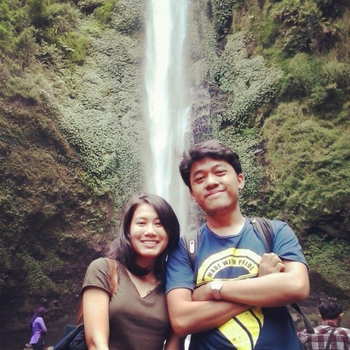 gunturprasetyooo:  @vindachairani #waterfall #indonesia #nature #natural #scene #scenery #beautiful