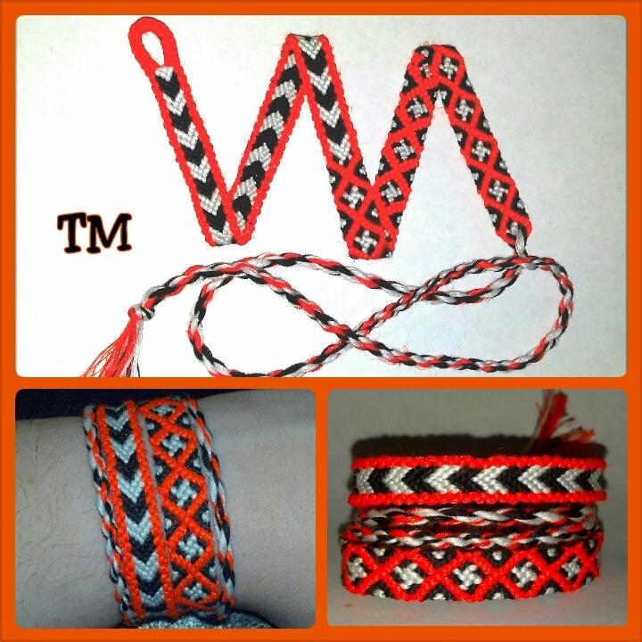 CHECK THIS OUT!!!  NEW AND ORIGINAL!!!   3-in-1 Layered Bracelet  by Throwin' Wristicuffs   Stacked and layered arm candy -all one piece!   Wrap your wrist with a comfortable, coordinated, customizable set without the bulky mess of tangled knots  Available exclusively from :  https://www.etsy.com/listing/124392460/3-in-1-layered-bracelet