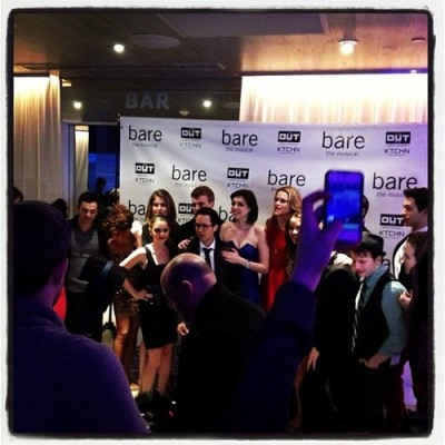 @BareNYC premiere party tonight at @THEOUTNYC!  Press and cameras everywhere.  #NYC #hotel (at THE OUT NYC)