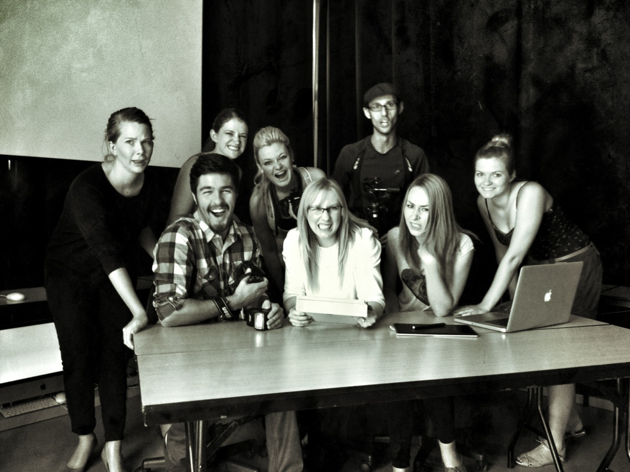 The Open Window's Photography Class of 2013…we own facial expressions.