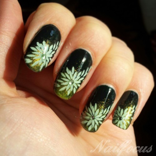 nailfocus:  Today was all about green :)