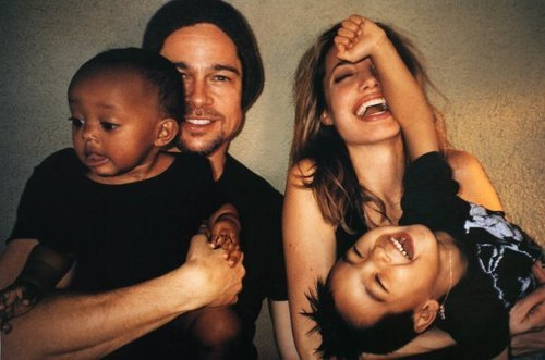 dailydesirables:  Brangelina forever and ever.