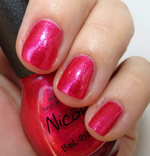 "Selena Gomez' ""Scarlett"" from her Nicole by OPI Nail Polish Collection!"
