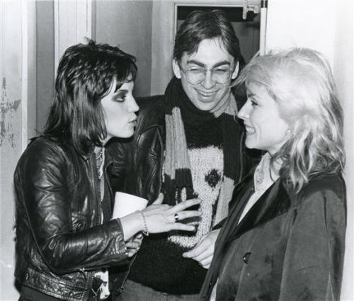 suicidewatch:  Joan Jett, Debbie Harry, and Chris Stein