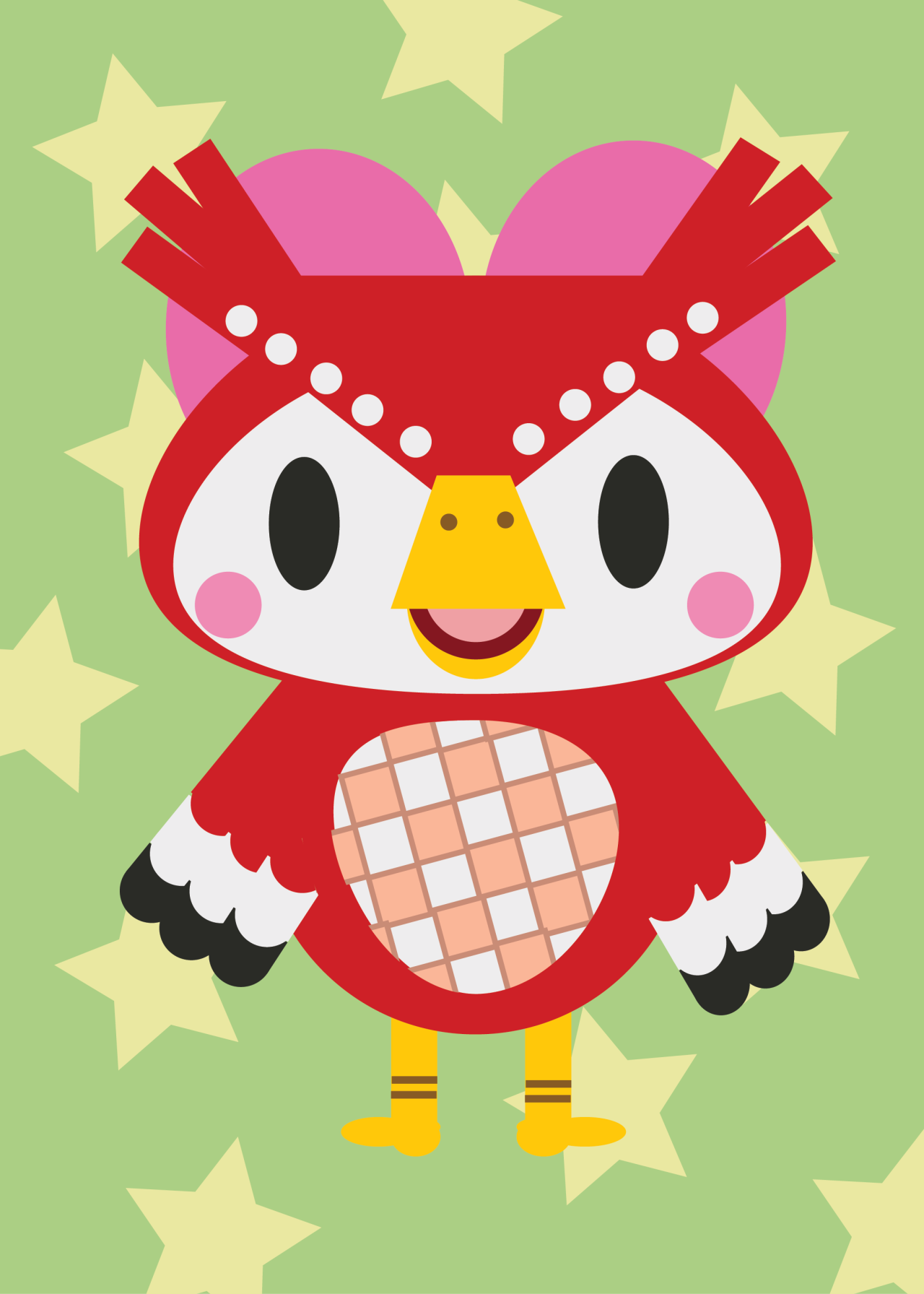 espanameg:  Celeste from Animal Crossing: City Folk and Animal Crossing: Wild World. done in adobe illustrator cs6
