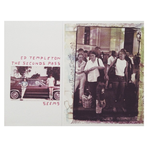 "@tempster_returns #edtempleton ""the seconds pass"" book from @neetoh 😍 #vday better than roses, chocolates, wine, etc."