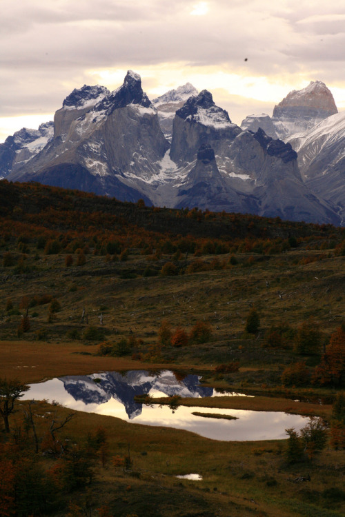 touchdisky:  Torres des Paine, Chile by fotosarisca