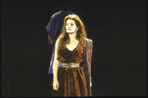 Kate Mulgrew New York Shakespeare Festival Titus Andronicus Delacorte Theatre 1989