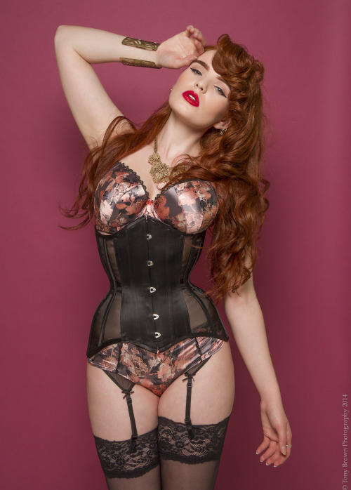 exclusivelyselectedlingerie:miss-deadly-red:CORSET BOMBARDMENT! I hope you don't get too sick of me &gt.&ltPhotography/Retouch: Tony Brown PhotographyModel/MUA/Styling: miss-deadly-redCorsets: Valkyrie CorsetsLipstick (Red hot Red)/Foundation (Bisque): besamecosmetics**Please do NOT remove credits**&lt3