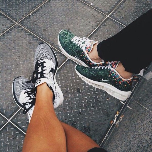 Nike Flyknit Racer and Nike Air Max 97 Rio